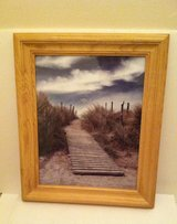 Dock Picture in Light Oak Frame in Lockport, Illinois