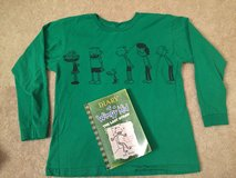 Diary of a Wimpy Kid Book & Shirt in Westmont, Illinois