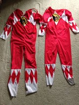 2 Red Power Ranger Suits in Naperville, Illinois