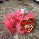 8ct NEW- Valentines day cookie cutters in El Paso, Texas