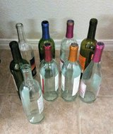 9 Assorted Wine Bottles For Crafts in Fort Bliss, Texas