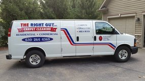 Carpet Cleaning-The Right Guy, Inc. Cleaning Services of Area Rugs/Tile Floors/Furniture in Oswego, Illinois