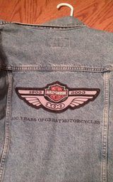 Genuine Harley Davidson womens denim jacket in Beaufort, South Carolina