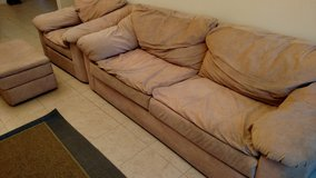 Couch, sofa chair, & ottoman in Fort Bliss, Texas