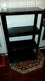 New / Black / Commercial Metal Rolling Book Shelf in Fort Campbell, Kentucky