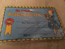 Class set Mrs. Frizzle Reading Award sheets in Westmont, Illinois