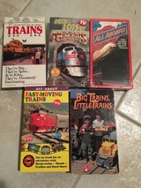 5 VHS about Trains in Glendale Heights, Illinois