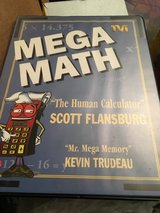 Mega Math Kit VHs, Cassette & Workbook in Lockport, Illinois