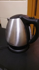 Electric kettle in Camp Casey, South Korea
