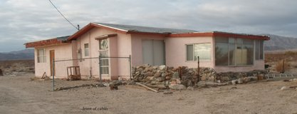large fixer upper on 2 1/2 acres in 29 Palms, California