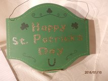 St. Patrick's Day Sign in Aurora, Illinois