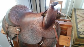 15 inch Tooled Saddle in Conroe, Texas
