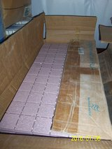 American Olean Pink Ceramic Mosaic Tile Sheets in Alamogordo, New Mexico