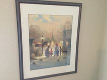 G. Harvey signed print in Kingwood, Texas