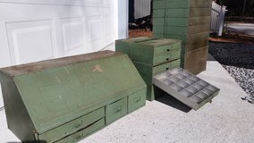 "VINTAGE, ANTIQUE ""GENUINE PARTS"" ""CARBURETER"" METAL PARTS DRAWERS!!! in Cherry Point, North Carolina"
