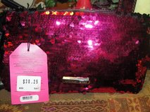 "VICTORIA SECRETS ""BOMBSHELL"" SEQUIN PURSE, PERFUME, POWDER, HAIR SERUM, GLOSS in Camp Lejeune, North Carolina"