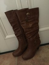 *New Brown Boots (Size 8M)* in Okinawa, Japan