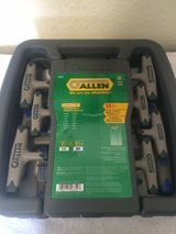New Allen Wrench set, Metric and Standard in Fort Irwin, California