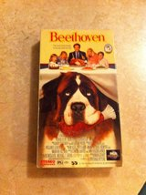 Beethoven VHS movie in DeRidder, Louisiana