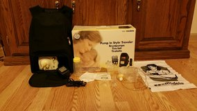 Reduced- Medela Double Travelers backpack Breast Pump in Pleasant View, Tennessee