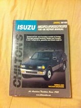 Isuzu repair manual in DeRidder, Louisiana