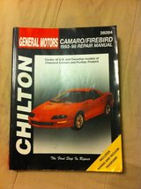 Camaro repair manual in DeRidder, Louisiana