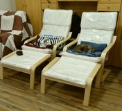 2 Lounge Chairs each with/foot stool in Fort Leonard Wood, Missouri