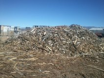 HUGE MOUNTAIN OF KINDLING in Alamogordo, New Mexico