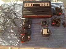2 Atari 2600 consoles controllers and games in Yucca Valley, California