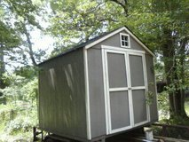 Storage building 8' x 8' New still on trailer in Conroe, Texas