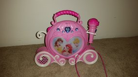 Disney Princess sing along music player with mp3 in Bolingbrook, Illinois
