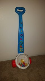 Fisher Price classic popper push toy in Bolingbrook, Illinois