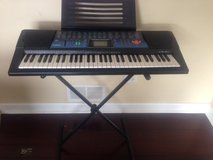Casio Keyboard CTS-511with stand in Naperville, Illinois