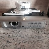 Sanyo PLV Z1 Projector with ceiling mount in Naperville, Illinois