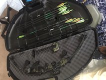 Tracker compound bow in Fort Leonard Wood, Missouri