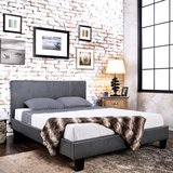 "INVENTORY SPECIAL ""URBAN STYLING"" LEATHER PLATFROM QUEEN BED in Vista, California"