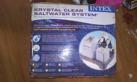 New SaltWater INTEX pool cleaner in Houston, Texas