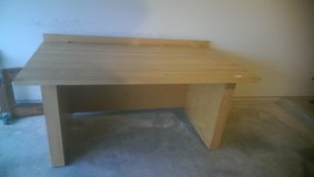 OVERSIZE SOLID WOOD WORK TABLE WORKING BENCH in Conroe, Texas