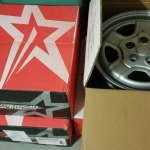 "16"" Factory Steel Wheels Jeep Patriot Set of 4 $160 in Houston, Texas"