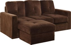 NEW Brown Microfiber Sofa Sectional in Beaufort, South Carolina