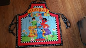 New aprons for your favorite teacher in Fairfield, California