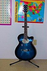 Vineyard MJ-100 Acoustic/Electric guitar in Nellis AFB, Nevada