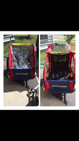 Double seater bike trailer in Fort Drum, New York