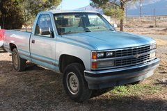 89 Chev.1500 4x4 in Alamogordo, New Mexico