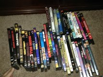 Various DVDs in Aurora, Illinois