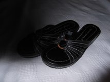 SANDALS, APOSTROPHE   LEATHER  NWOT in Cherry Point, North Carolina
