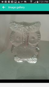 Owl figurine in St. Charles, Illinois