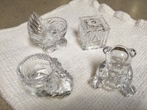 Set of 4 Glass Baby Decor in Chicago, Illinois