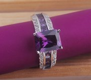 New - Purple Amethyst Ring - Size 7 in Alamogordo, New Mexico