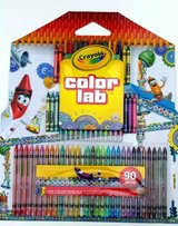 Crayon a color lab 90 piece set new in Naperville, Illinois